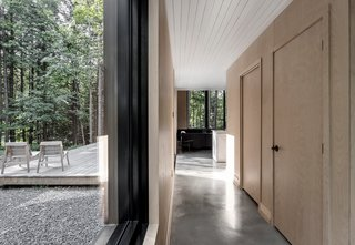 A Lofty Nature Retreat in Quebec Inspired by Nordic Architecture - Photo 8 of 16 -