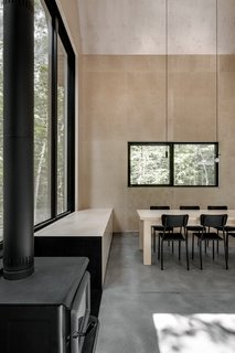 A Lofty Nature Retreat in Quebec Inspired by Nordic Architecture - Photo 11 of 16 -