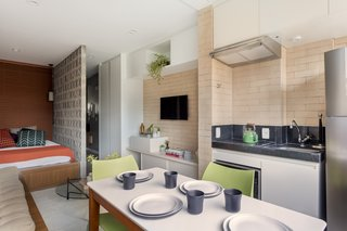 A 290-Square-Foot Apartment in São Paulo Takes Advantage of Every Inch - Photo 1 of 8 -
