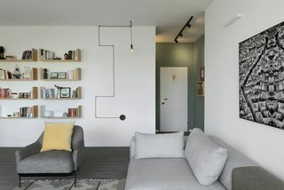 Graphic Design Guides an Apartment Renovation in Tel Aviv - Photo 12 of 14 -