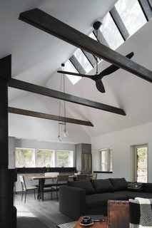 A Minimalist Retreat Rises From Old Stone Walls in Hudson Valley - Photo 5 of 12 -
