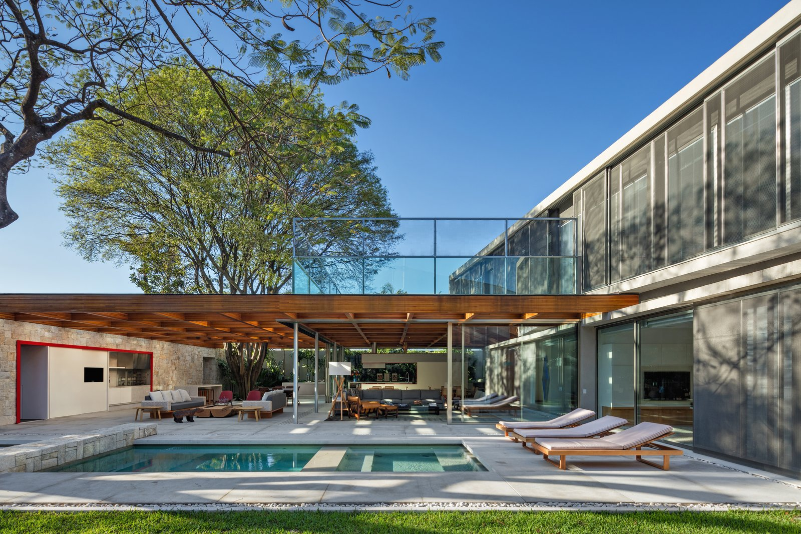 This Brilliant Brazilian Abode Was Designed Around an Imposing Tree
