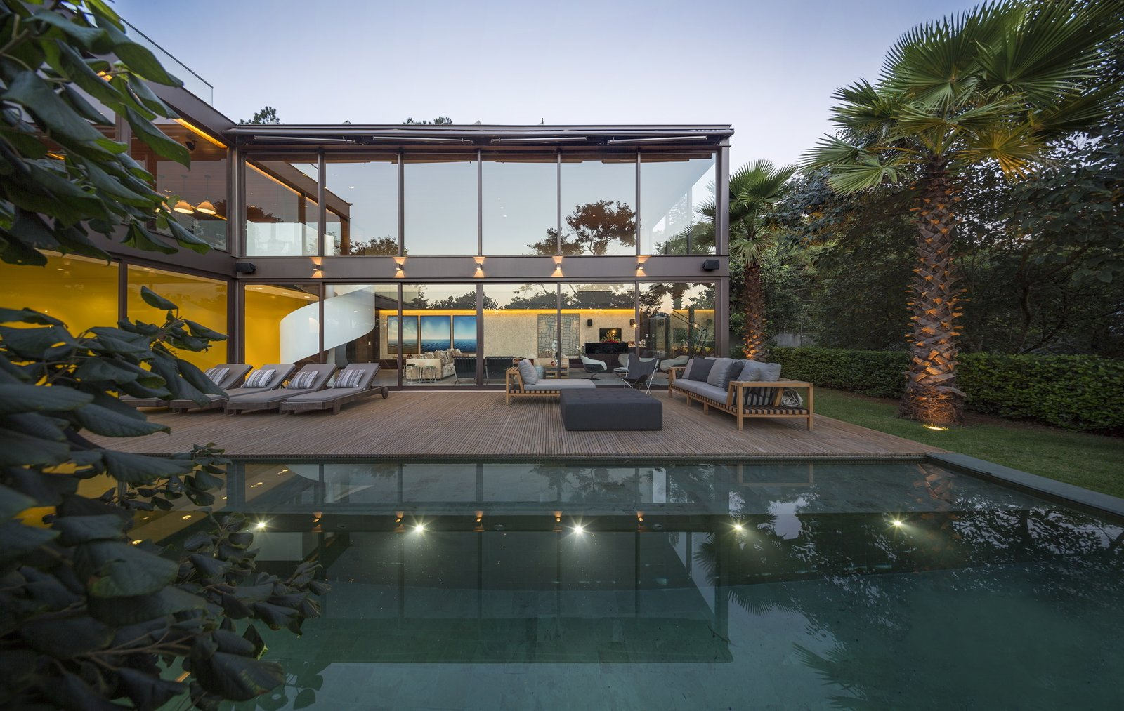 This Stunning Brazilian Residence Takes Cues From Mies van der Rohe