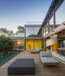 This Stunning Brazilian Residence Takes Cues From Mies van der Rohe - Photo 1 of 12 -