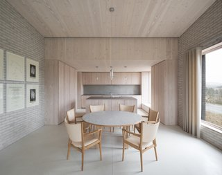10 Zen Homes That Champion Japanese Design - Photo 19 of 20 - Influenced by both Benedictine monasteries and Japanese residences, award-winning British architect John Pawson created The Life House – a minimalist holiday rental home in Wales with a pure and uncluttered ambience that encourages a state of quietude and contemplation.