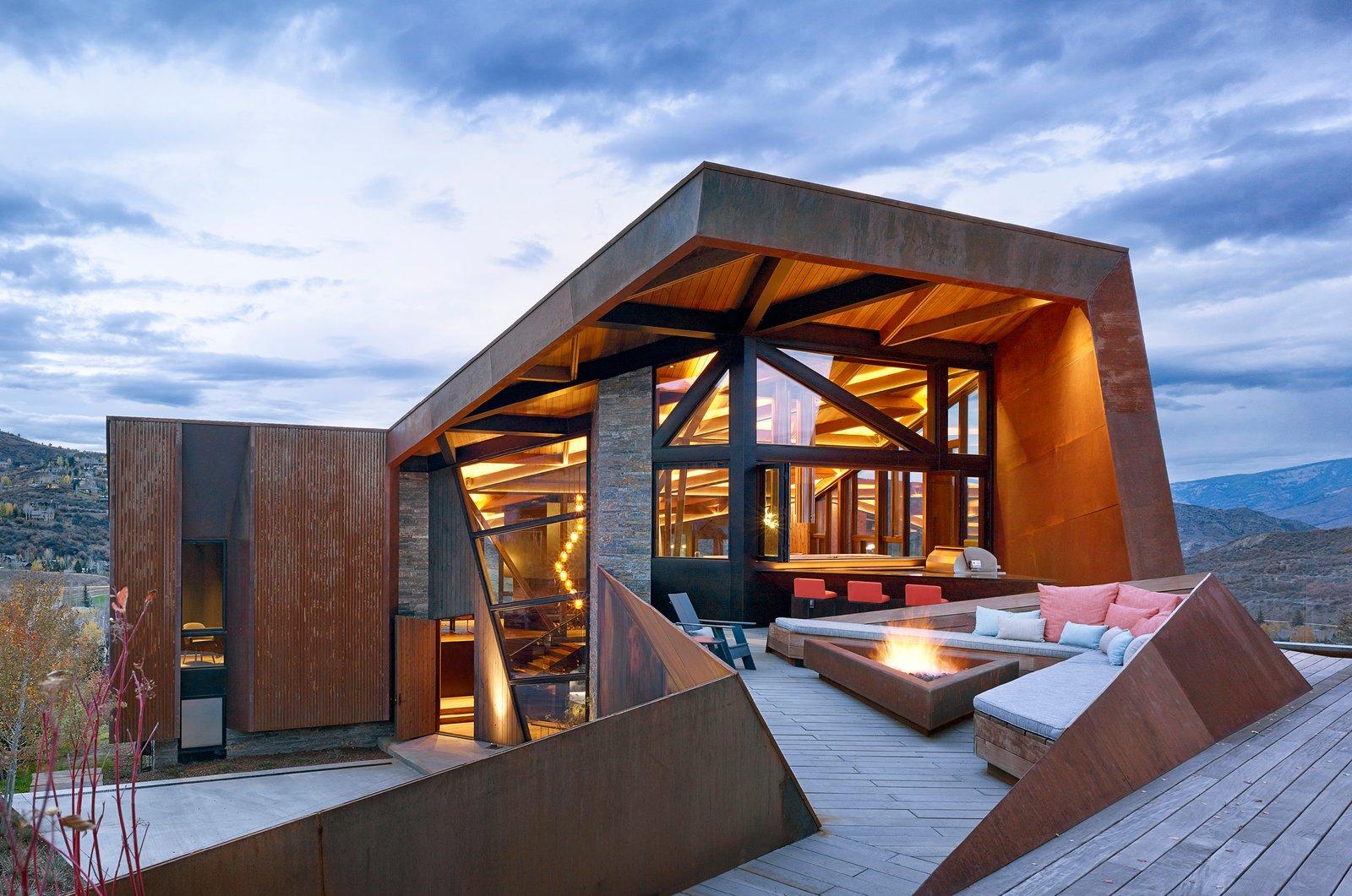 breathtaking mountain home designs colorado. An Angular Mountain Retreat in Colorado Captures Breathtaking Views