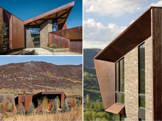 An Angular Mountain Retreat in Colorado Captures Breathtaking Views - Photo 11 of 15 -