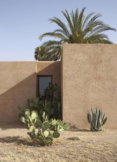 4 Enchanting Moroccan Villas by French Duo Studio KO - Photo 9 of 10 - Narrow slits and small apertures take the place of conventional openings in Villa D.