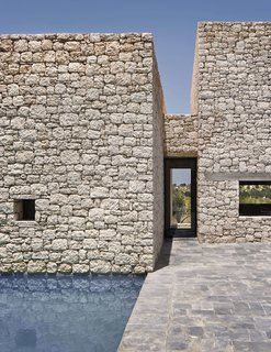 4 Enchanting Moroccan Villas by French Duo Studio KO - Photo 10 of 10 - Villa DL has small roofless courtyards, and a central patio reminiscent of the types found in ancestral farmsteads in the nearby countryside.