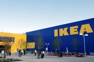 How IKEA Founder Ingvar Kamprad Built an Empire Out of Swedish Resourcefulness - Photo 6 of 14 - An IKEA store in Belfast, Northern Ireland