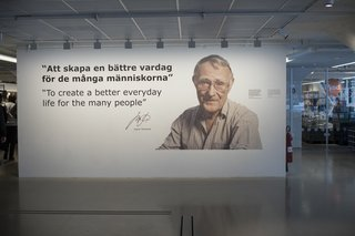 How IKEA Founder Ingvar Kamprad Built an Empire Out of Swedish Resourcefulness - Photo 1 of 14 - Ingvar Kamprad's motto and the ethos that guides the IKEA brand