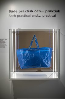 How IKEA Founder Ingvar Kamprad Built an Empire Out of Swedish Resourcefulness - Photo 10 of 14 - IKEA's signature blue Frakta shopping bags