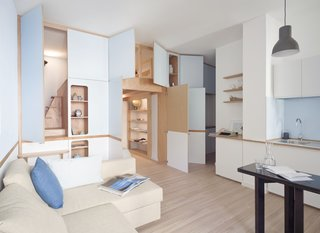 A Tiny Apartment in the Italian Riviera Takes Cues From Nautical Design