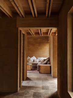 Five Cubist Hideaways Peek Out From a Mexican Pine Forest - Photo 11 of 17 - A corner lounge area