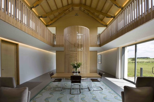 British architects Sir Michael and Lady Patty Hopkins designed The Long House in Norfolk for Living Architecture.