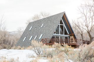 Before and After: An A-Frame Cabin Boasts Serious Scandinavian Vibes