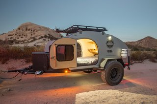 10 Cool Trailers and Campervans You Can Rent For Your Next Adventure - Photo 4 of 10 - With rental locations in California, Arizona and Utah, Off The Grid Rentals is a convenient option for adventures taking place along the west coast.