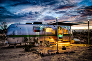 10 Cool Trailers and Campervans You Can Rent For Your Next Adventure - Photo 9 of 10 - At Kate's Lazy Desert, there's no shortage of vintage trailers and serene vibes.