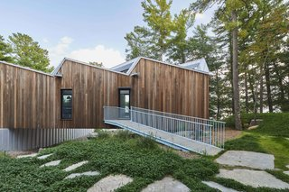 A Net-Zero Home in Canada Boasts a Striking Saw-Toothed Roof