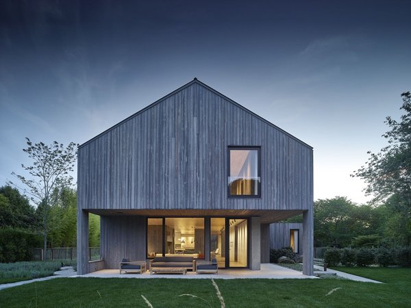 Charred cypress siding by ReSwan Timber Co.