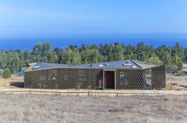 A beach house in the coastal Chilean town of Punta de Lobos.
