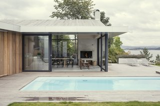 An Outdated Norwegian Prefab Gets a Modern Makeover