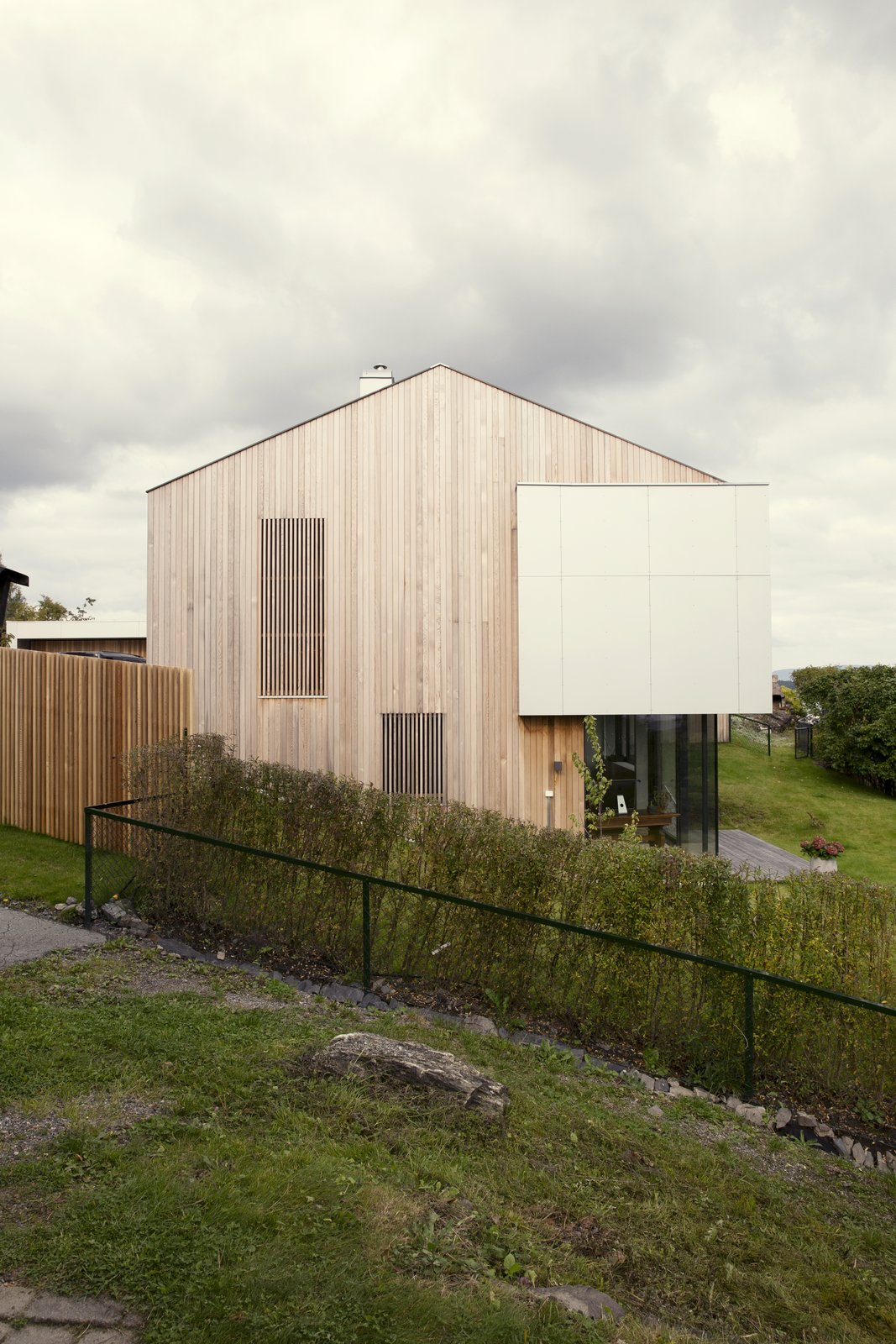 A renovated prefab in Norway.