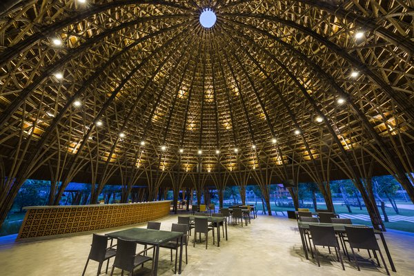 Son La Ceremony Dome by Vo Trong Nghia Architects.