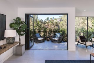 Red Hot Chili Peppers Frontman Anthony Kiedis' Former L.A. Abode Asks $3.2M - Photo 7 of 13 - Numerous balconies allow the owner to enjoy the warm Californian sunshine.