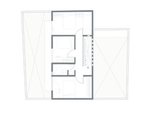 Before and After: A Cramped Home in Mexico Gets a Drastic Makeover on a Tight Budget - Photo 17 of 18 - A floor plan of the interiors and two courtyards.
