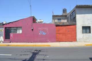 Before and After: A Cramped Home in Mexico Gets a Drastic Makeover on a Tight Budget - Photo 1 of 18 - The entrance of the house before the renovation.