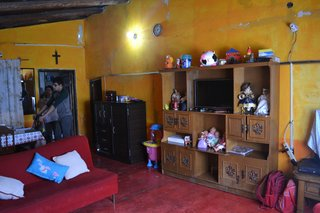 Before and After: A Cramped Home in Mexico Gets a Drastic Makeover on a Tight Budget - Photo 2 of 18 - The interiors of the family home before the renovation.