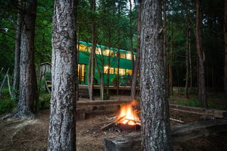 This Double-Decker Bus Offers an Eclectic Glamping Experience - Photo 12 of 12 -
