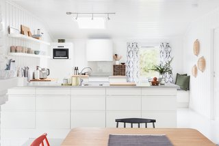 "Relax and Recharge at This Charming Norwegian ""Hytte"" Rental - Photo 4 of 13 - An expansive skylight brightens the kitchen."