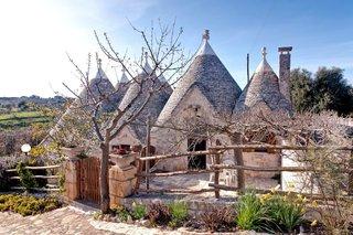 Stretch Your Travel Budget With These Cool Rentals—All Around $100 or Less - Photo 6 of 10 - A look at the traditional trullo home in the town of Cisternino in Italy's Apulia region.