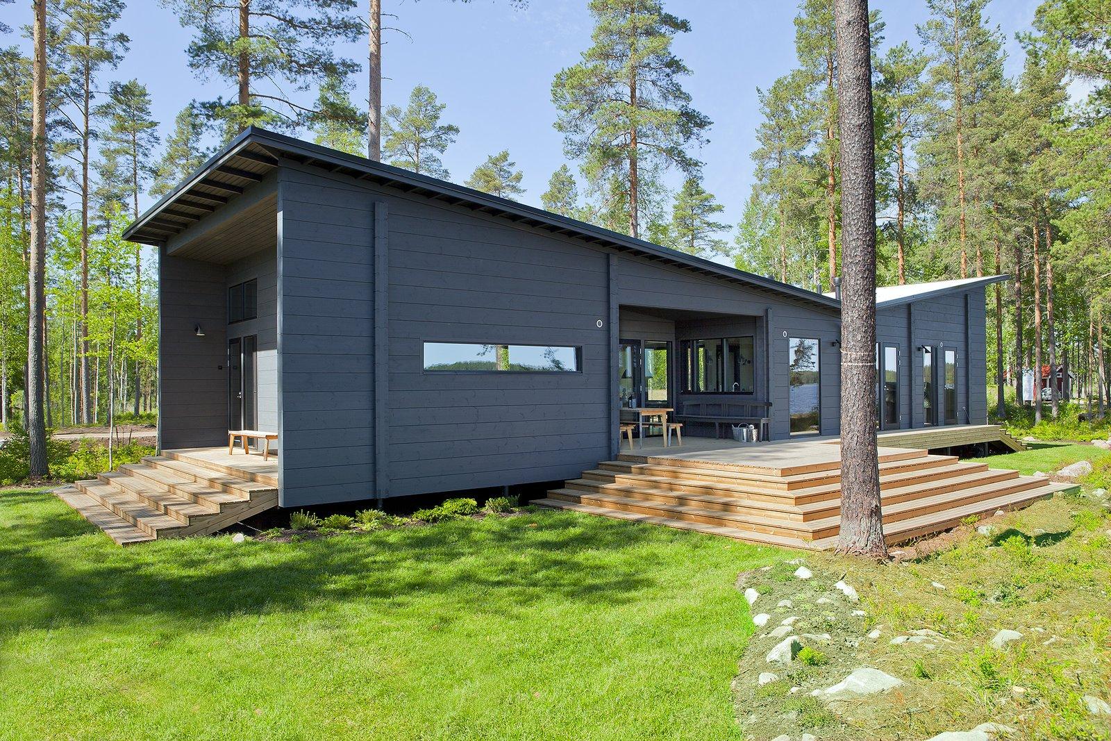 These 8 Log Cabin Kit Homes Celebrate Nordic Minimalism