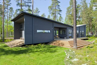 These 8 Log Cabin Kit Homes Celebrate Nordic Minimalism