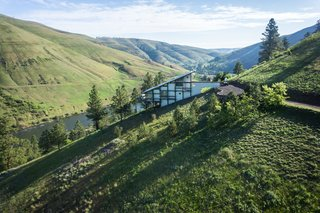 Own This Award-Winning Riverside Home in Idaho For $650K
