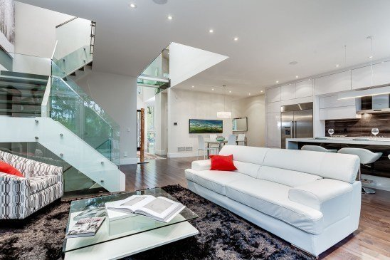 Photo 18 of The Glass Bridge House modern home