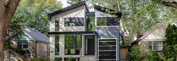Photo  of The Glass Bridge House modern home