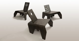 African Designs Go Mainstream: Jomo Tariku Showcases The Birth Chair II at Dubai Design Week - Photo 1 of 4 -