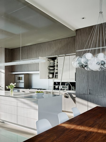 Modern home with kitchen. Photo 18 of Telegraph Hill Townhouse