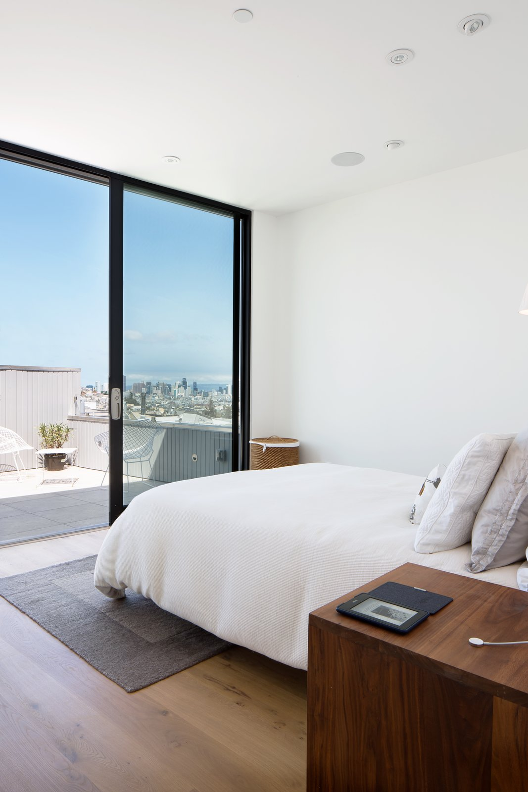 Master bedroom  27th Street - Noe Valley by patrick perez/designpad architecture