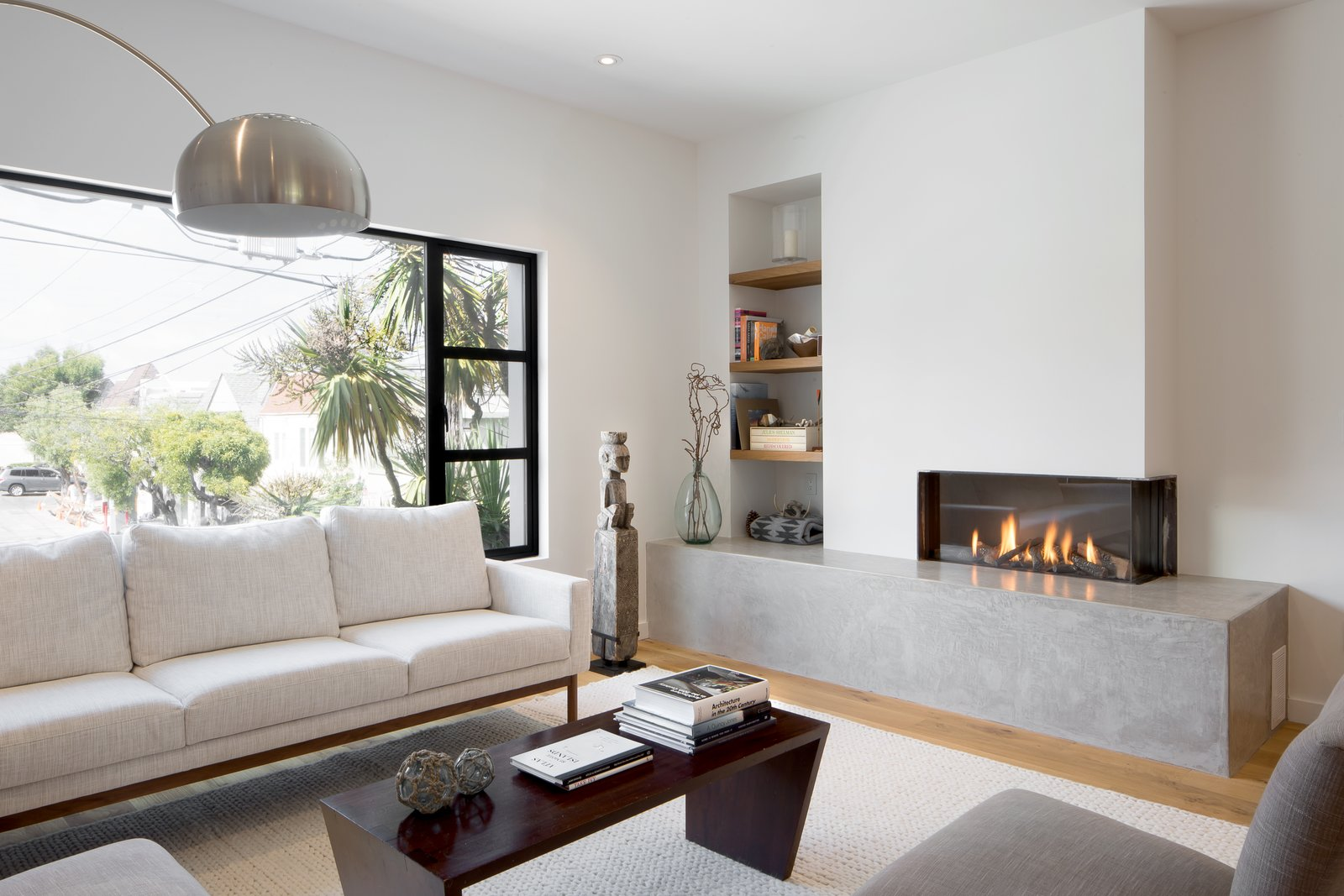Living room 27th Street - Noe Valley by patrick perez/designpad architecture