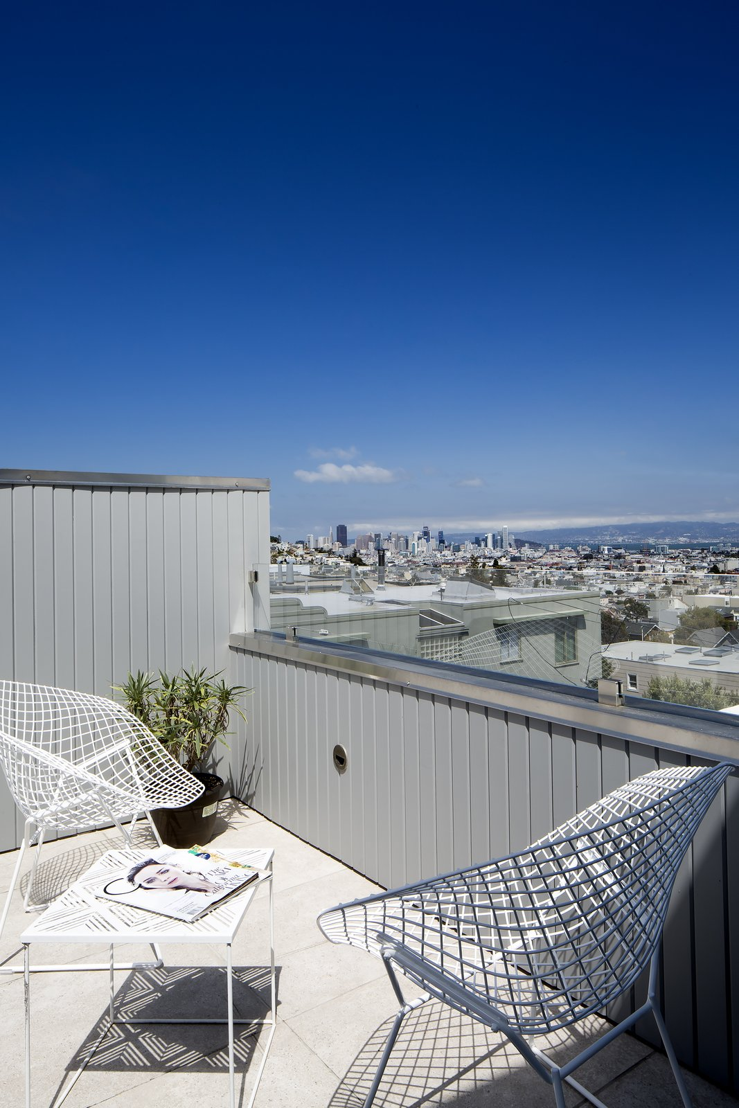Roof deck  27th Street - Noe Valley by patrick perez/designpad architecture