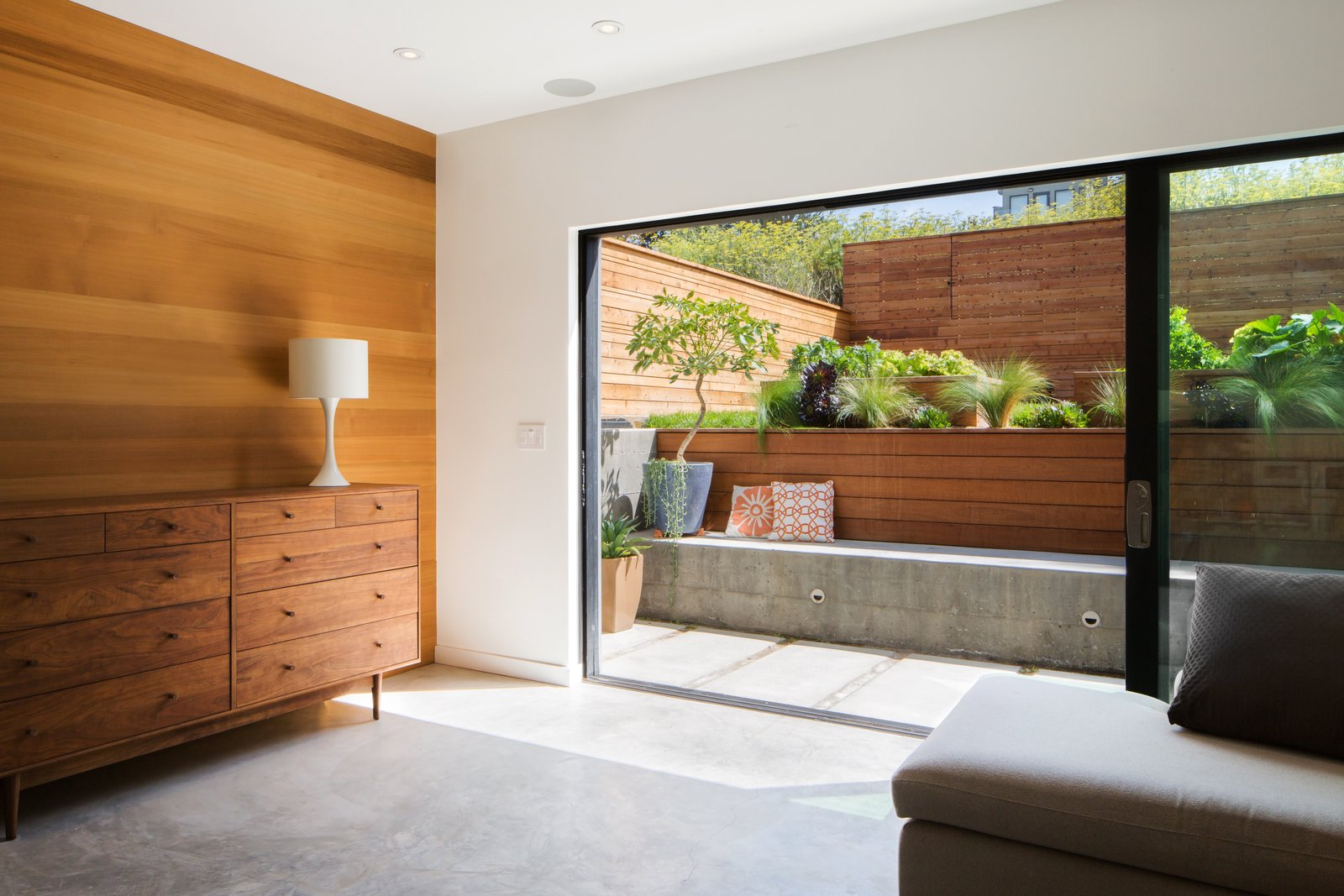 Den Tagged: Office, Study, Storage, and Concrete Floor.  27th Street - Noe Valley by patrick perez/designpad architecture