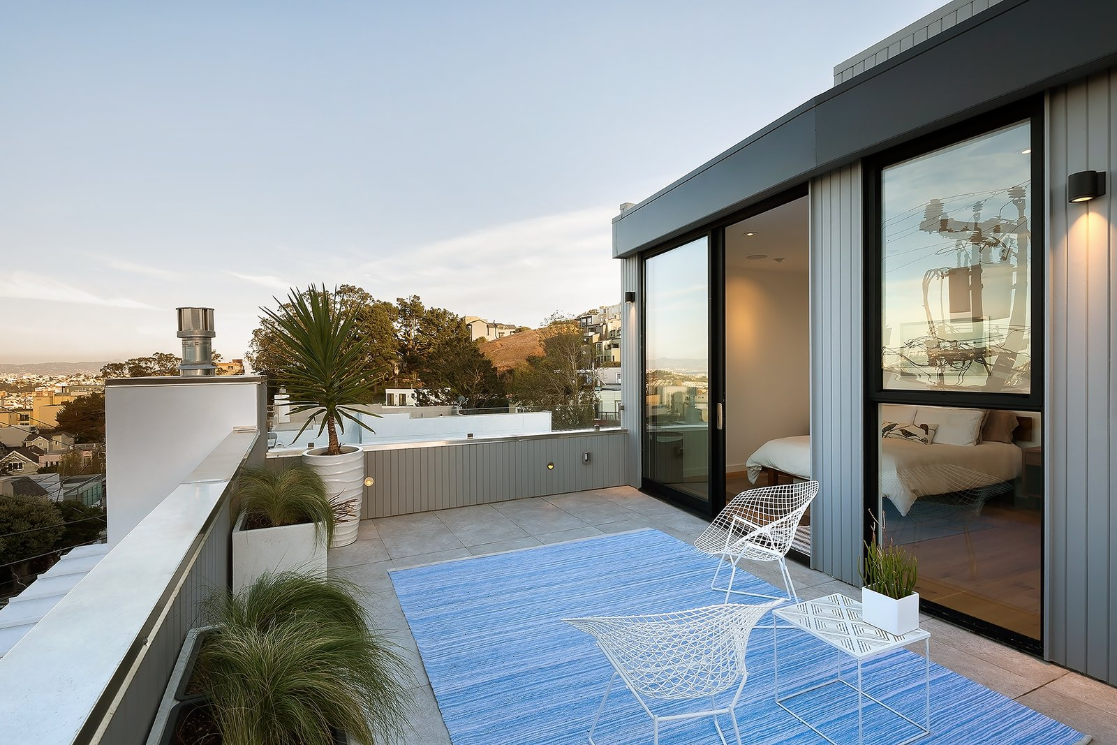 Roof deck Tagged: Outdoor and Small Patio, Porch, Deck.  27th Street - Noe Valley by patrick perez/designpad architecture