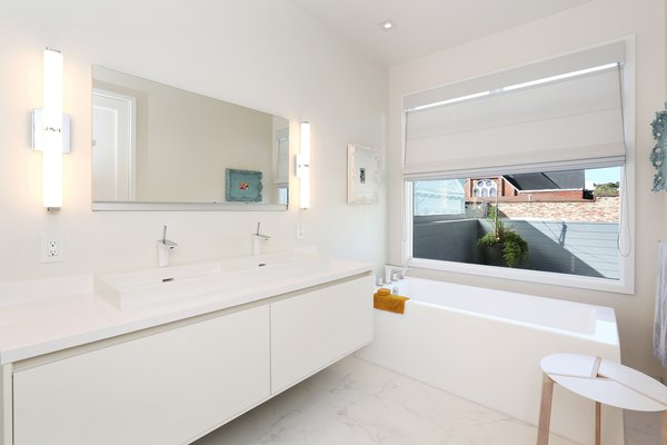 Master bath Photo 14 of Lower Pacific Heights modern home