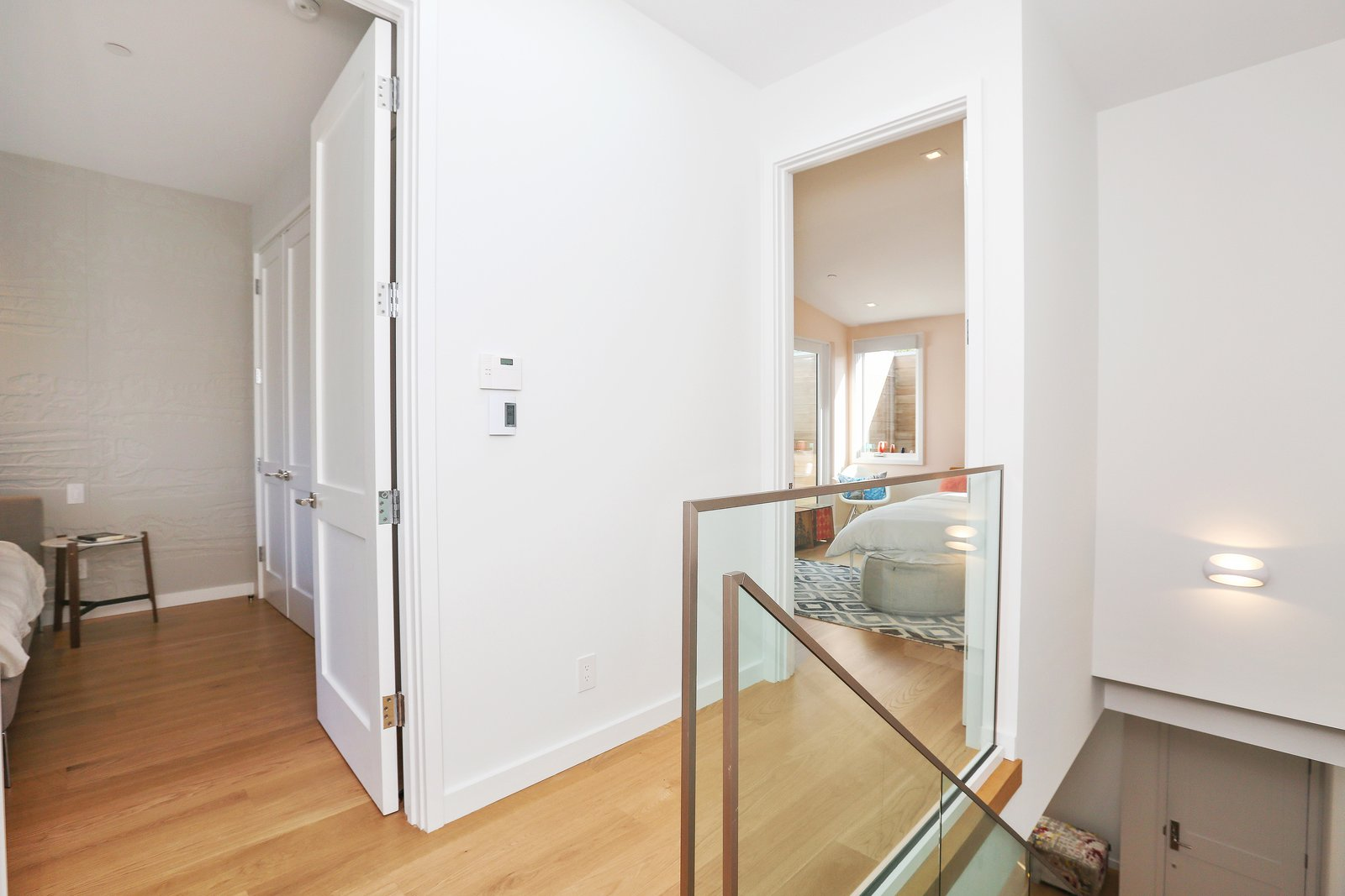 hallway  Lower Pacific Heights by patrick perez/designpad architecture