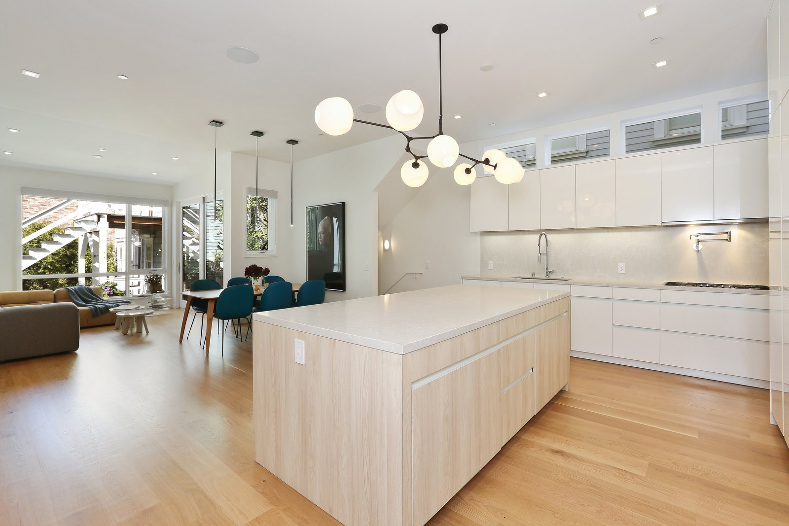 kitchen  Lower Pacific Heights by patrick perez/designpad architecture